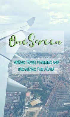 OneScreen travel app