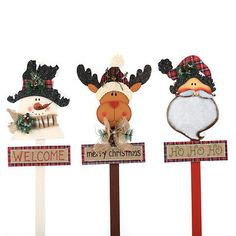 Rustic Christmas Outdoor Stake