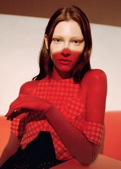 Lera Tribel by Greta Ilieva for Under The Influence Magazine #13 Spring Summer 2014