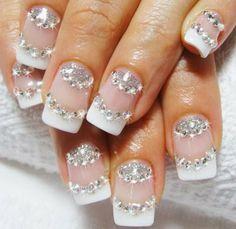 Silver Wedding Nail Art Ideas - Australian Wedding Ideas