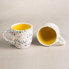 Mr messy tazza bianco