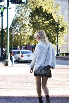 Cozy Sweater + Sock Booties - Casiraghi Style