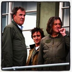 Jezza (Jeremy Clarkson) , Hamster (Richard Hammond) and Captain Slow (James May) Gear S, Top Gear, Clarkson Hammond May, James Richards, Paul Mcgann, James May, Jeremy Clarkson, British Humor, Tie Fighter