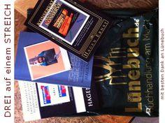 Drei Bücher ... auf Amazon.de oder auf Nachfrage im netten Buchhandel