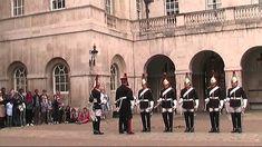 Cambio de guardia. Horse Guards. Londres