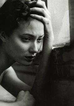 "federer7:  "" Shalom Harlow by Steven Meisel for Vogue Italia  (Larger size view)  """