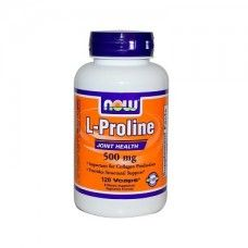 L-Proline 500mg Now Foods