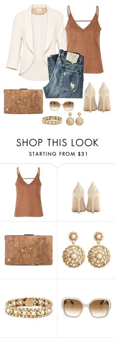 """Untitled #966"" by gallant81 ❤ liked on Polyvore featuring Wilfred, Glamorous, Gianvito Rossi, Sondra Roberts, Brooks Brothers and Salvatore Ferragamo"