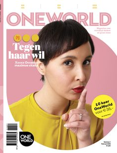 OneWorld magazine nr 2, 2016-Hasna El Maroudi- Photography Anne Reinke- Picture editor Anja Koelstra #OneWorld