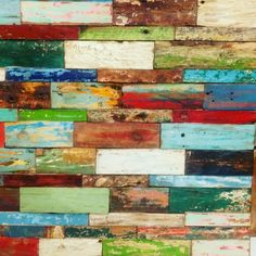 Brighten up your day and your interior with these one-of-a-kind colourful wall panels. Built using planks from retired fishing boats. ⚓ www.zenporium.com #artwork #walldecor #rusticdecor #InteriorDesign #interiordecor #reclaimedwoodart #sustainabledesign #greenliving #rusticinteriors #woodlove #colourfulinteriors #boatwoodplanks #reclaimedwood #guiltfreewood #shoponline #Zenporium Scrap Wood Art, Reclaimed Wood Art, Barn Wood, Mirror Panels, Wood Planks, Rustic Interiors, Sustainable Design, Fishing Boats, Wall Colors