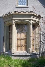 Custom writing bay interior doors