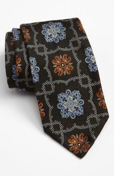 robert talbott | Robert Talbott Sevenfold Silk Tie in Black for Men - Lyst