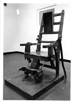 George Stinney, youngest executed in century - TheGrio Outdoor Chairs, Outdoor Furniture, Outdoor Decor, Old Sparky, Electric Chair, Black History, South Carolina, Death, Prison Break