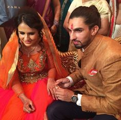 Indian Cricketer Ishant Sharma Gets Engaged to Basketball Player Pratima Singh