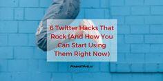 RT @markethubio: 6 Twitter Hacks That Rock (And How You Can Start Using Them Right Now) https://t.co/hLh5rWADrT  #SocialMedia https://t.co/wxRgXZhMrD