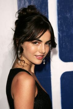 Camilla Belle at Gotham Awards - Nov. Camilla Belle, Beautiful Celebrities, Beautiful Actresses, Brunette Beauty, Hair Beauty, Belle Hairstyle, Provocateur, Pretty Face, Beauty Women