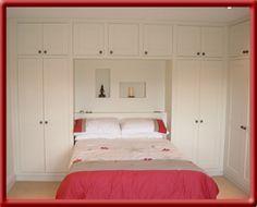 wardrobe over the bed - Buscar con Google