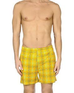 ALV ANDARE LONTANO VIAGGIANDO Men's Swim trunks Yellow XXL INT