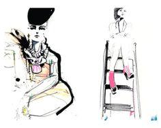 Mooi-Hip-Cool: Fashion illustraties - Petra Lunenburg