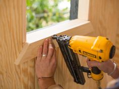 How to Clad a Playhouse's Interior Walls With Beadboard : Page 03 : Decorating : Home & Garden Television Playhouse Decor, Playhouse Interior, Girls Playhouse, Playhouse Ideas, Backyard Fort, Backyard Playhouse, Build A Playhouse, Cubby Houses, Play Houses
