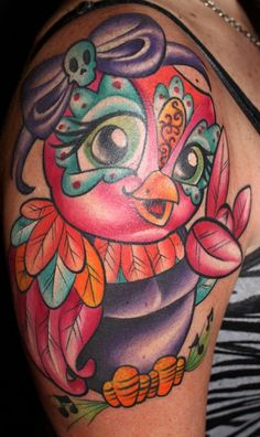 rockstar tattoo, owl tattoo, bright tattoo, jime litwalk, tim pangburn, myke chambers, Art machine productions, jeremy miller, | Kristel Oreto -Tattoo Artist- Philadelphia, PA