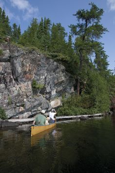Experience Minnesota's Pristine Wilderness canoe camping this summer, call us at 1-800-223-6565