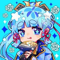 Pretty Art, Cute Art, Anime Chibi, Anime Art, Character Art, Character Design, Anime Lindo, Albedo, Matching Pfp