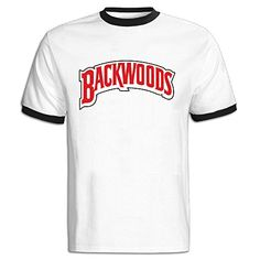 Mens Backwood Cigars Logo Color Block 100 Cotton Tee Shirt ** Find out more about the great product at the image link.