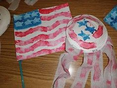DIY 4th of July : DIY 4th of July Flag and Shaker Craft