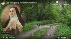 """Nada te turbe"" desde Baviera Youtube, Ocd, Videos, Language, Bavaria, Feather, Virgin Mary, German, Languages"