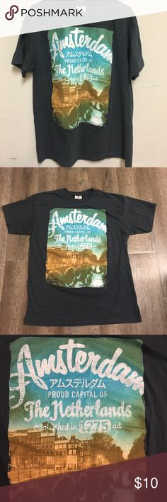 Fox men's t-shirt Fox men's XL blue t-shirt Fox Shirts Tees - Short Sleeve