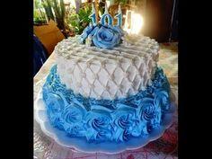 Faço muitos bolos de chantilly e quis tentar a técnica capitoné. Amei o…