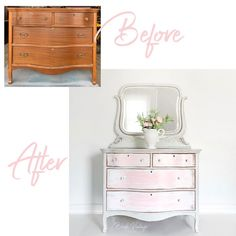 Upcycled Furniture, Furniture Projects, Furniture Makeover, Vintage Furniture, Coral Furniture, Grey Painted Furniture, White Furniture Inspiration, New Paint Colors, How To Distress Wood