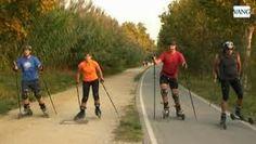 ESQUÍ SOBRE RUEDAS: QUE BASTONES NECESSITO PARA ESQUIAR SOBRE RUEDAS? Cross Skating in Spain!
