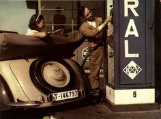 Gas station, Germany 1936
