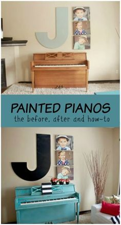 Painted Pianos - products used, lessons learned and what I would do differently next time.