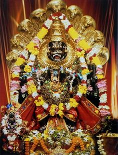 Narasimha Avatar - Fourh Incarnation of  Lord Vishnu (Photographic Print - Unframed)