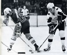 Terry Caffery was the Whalers first-ever 100-point scorer and a key figure in New England's 1972-73 Championship.