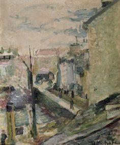 Belle Ile (H Matisse) Huile sur toile, 1896.