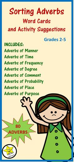 Adverbs Not Ending In Ly Essentials Pinterest Adverbs