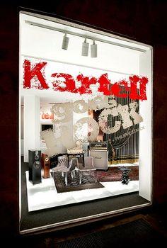 Kartell Goes Rock, Salone del Mobile 2012 project by Ferruccio Laviani