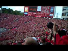 """Wisconsin's """"Jump Around"""" Voted Greatest College Football Tradition!     http://insidesportsillustrated.com/2012/11/27/wisconsins-jump-around-voted-greatest-college-football-tradition/"""