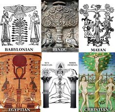 The Tree of Life & The Cross in Ancient Religions of the World.