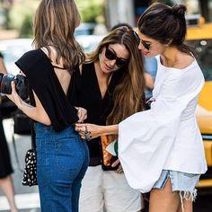 CATCH-a-TREND. #catchatrend #streetstyle #jeans #denim #fashionweek