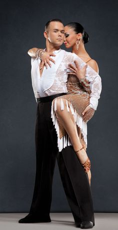 Dancing with the Stars of Dancesport! Russ and Katusha Wilder.