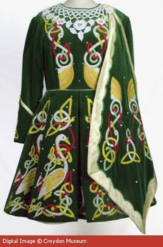 """Vintage-ish"" Irish Dance Dress, early 1990s"