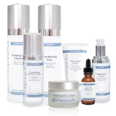 Glo Therapeutics- advanced skin care products that are formulated with potent concentrations of active ingredients to clinically transform the skin. Skin Care Spa, Skin Care Regimen, Advanced Skin Care, Facial Care, Skin Cream, Skin Problems, Anti Aging Skin Care, Good Skin, Natural Skin