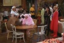 Friends Tv show - Halloween episode