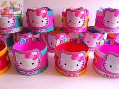 Resultado de imagen para regalos cumpleaños souvenirs 4 años hello kitty