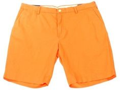 Polo Ralph Lauren Orange Mens Size 36 Chico 4-Pocket Shorts